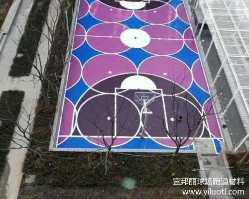 南京硅PU球場施工案例