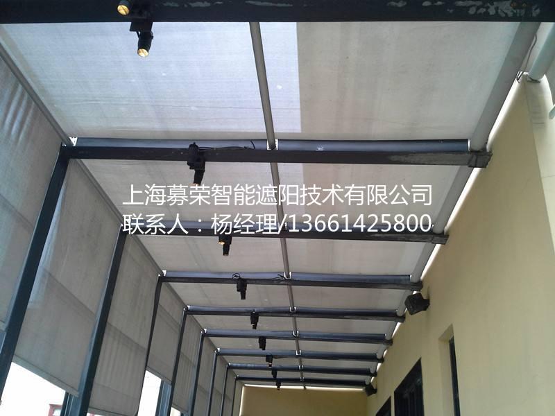 电动天棚帘厂家,募荣遮阳,13661425800