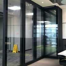 隐框玻璃活动隔断