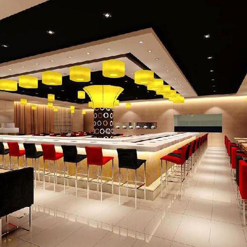 火锅店小吃店餐厅面包房奶茶店零食店铺办公室SI装修设计