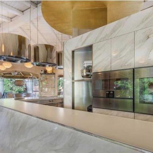 校史馆设计展厅餐厅形象墙设计