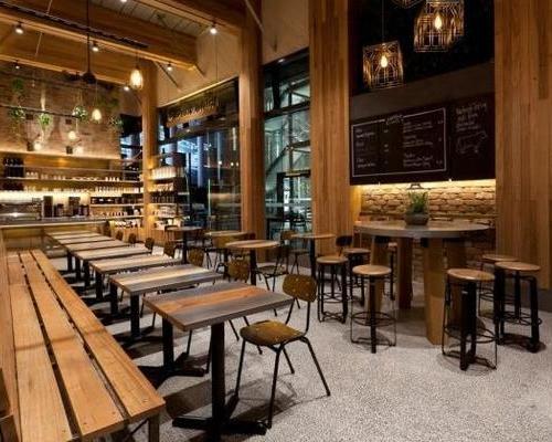 咖啡店饮品奶茶店餐厅烧烤店装修SI设计