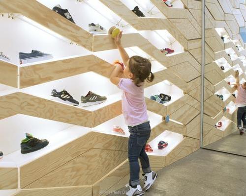 童装专卖店设计,童鞋店设计