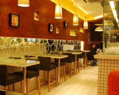 甜品店奶茶店咖啡店饮品店餐厅装修SI设计**店面