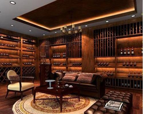红酒白酒店葡萄酒店零食店食品店专卖店装修SI设计,展厅设计