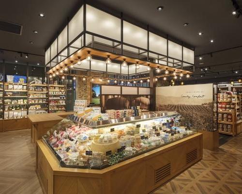 SI形象面包房蛋糕店食品店农特产品店商场展厅装修设计