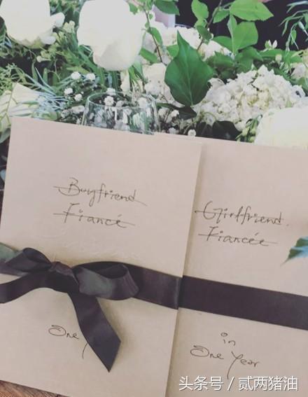从喜帖婚戒到婚礼布置,余文乐简约清新的田园婚礼细节大曝光!