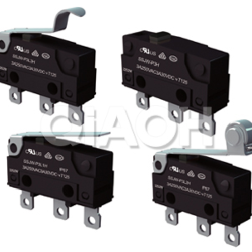 SSJW-P flux resistant miniature micro switch