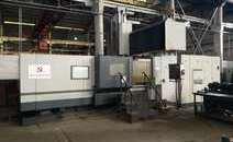 龍門式數控鉆銑床機床搬遷移機  精度調試