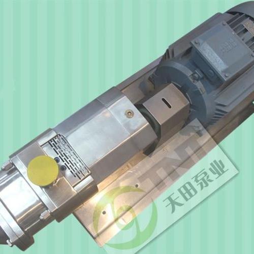 双螺杆泵(橡胶转子型)