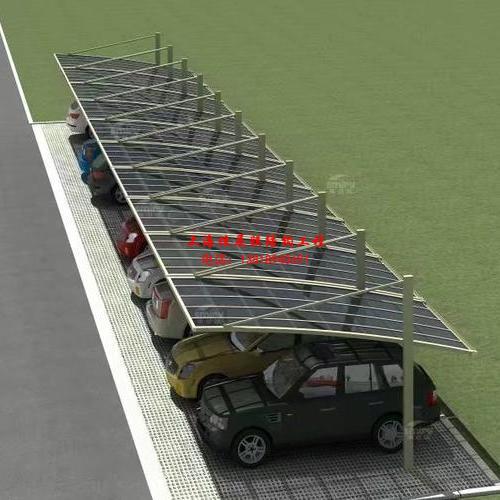 铝合金雨篷停车棚