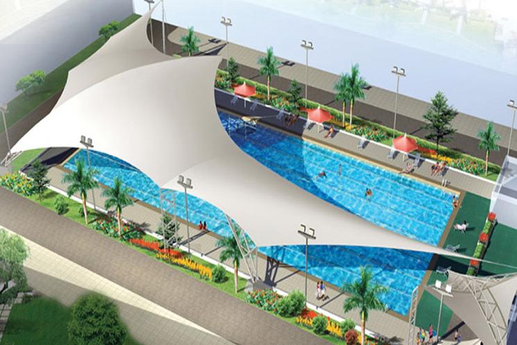 泳池膜结构