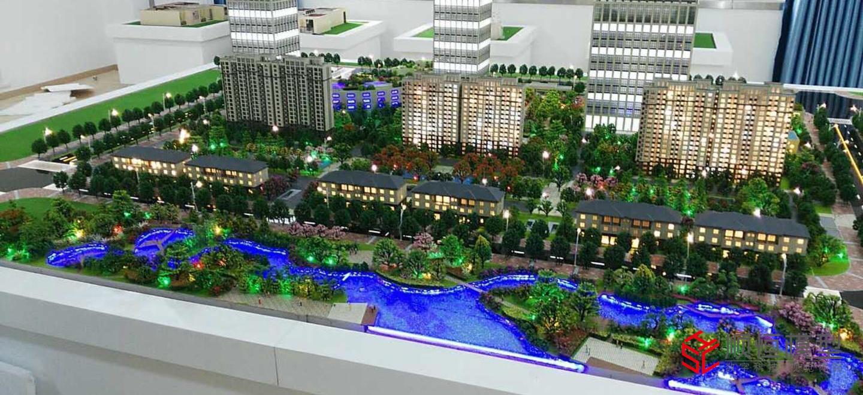 房地產建筑 合肥房產模型