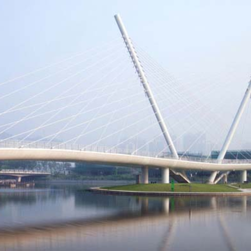 无锡锡东步行桥
