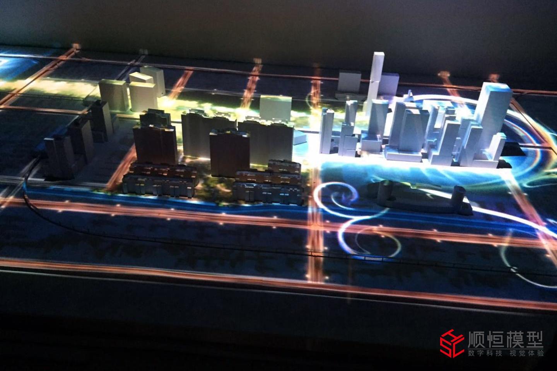 金地投影沙盤模型