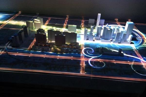金地投影沙盘模型