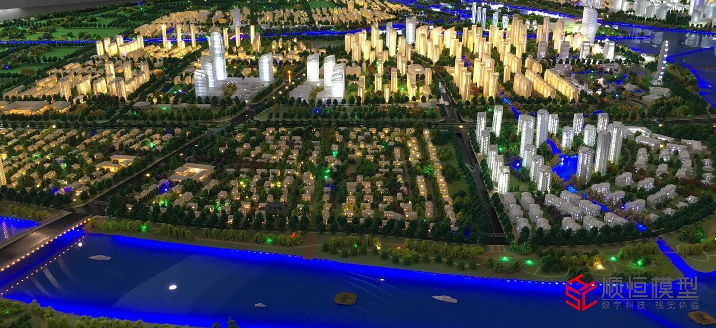 ?揚州城市規劃沙盤