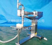 半自動立式自吸式液體灌裝機