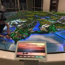 蒋坝镇旅游规划沙盘