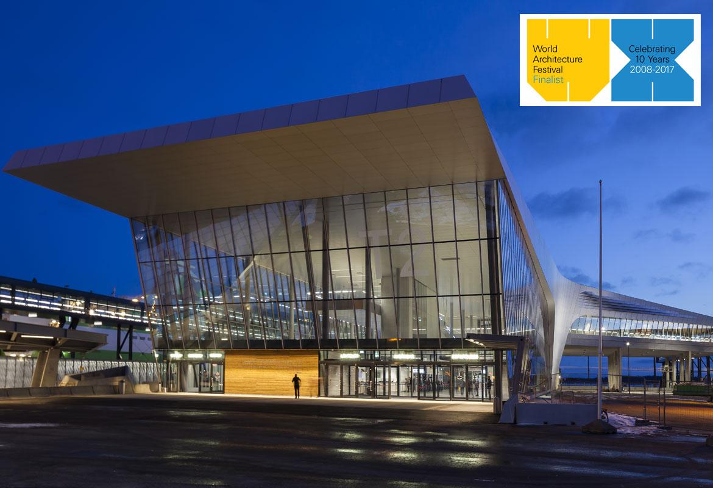 西部港口2号客运码头入围2017年世界建筑节奖项(WAF)