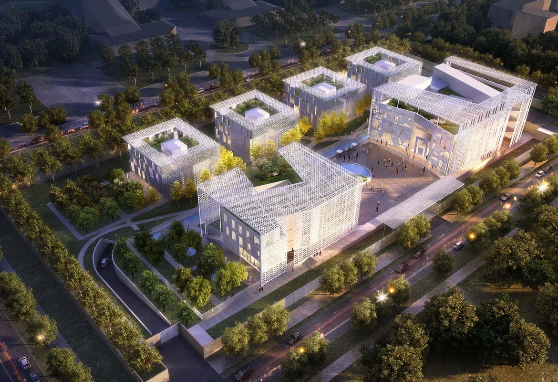 沙特阿拉伯驻吉尔吉斯斯坦比什凯克大使馆建筑竞赛