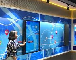 滑轨互动屏系统