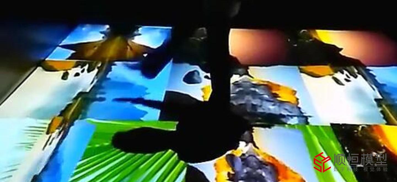 交互設計|地面投影系統
