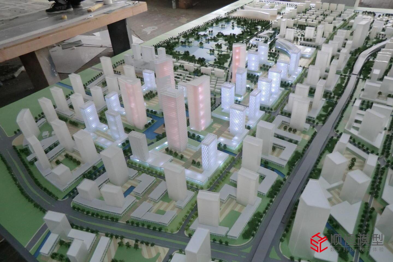 常州新城區規劃沙盤