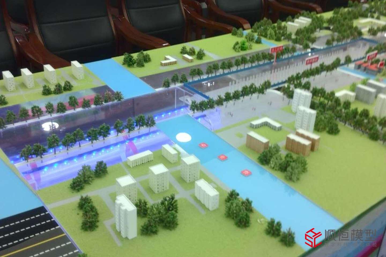 工業流水 中鐵建盾構沙盤模型