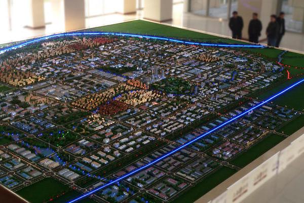 项城总体规划沙盘模型