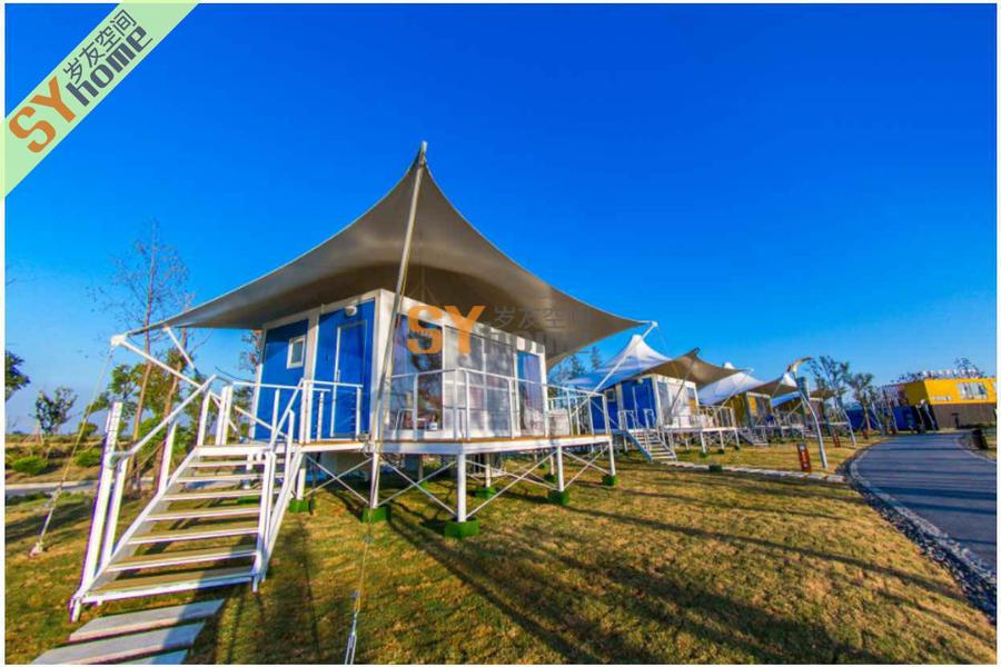 岁友米格之格拉丹帐篷房,一个让你真正体验奢华的集装箱帐篷房野奢生活