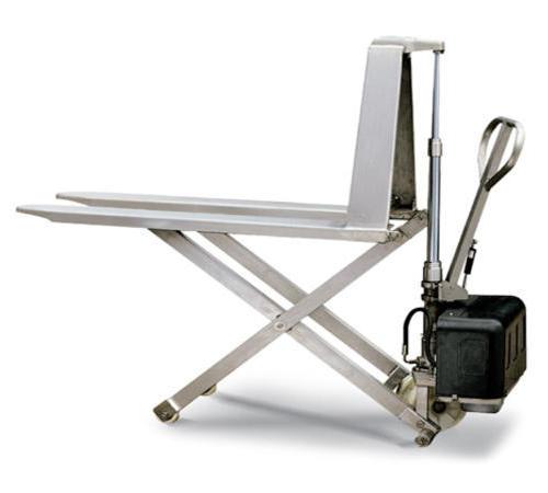 不锈钢型剪式升高液压搬运车