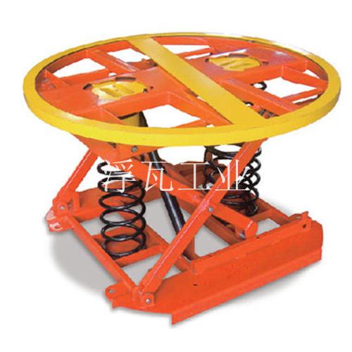 弹簧自动平衡型固定平台