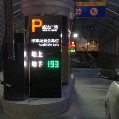 停车场车位引导