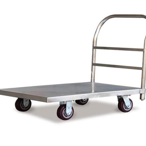 重型不锈钢平板推车