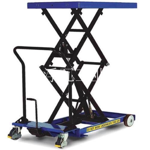 超低型脚踏式升降平台车