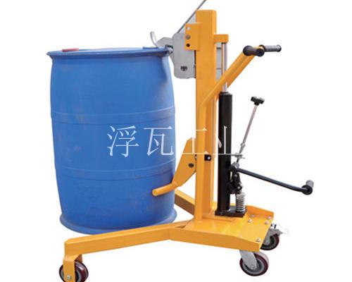 欧式重载型液压油桶搬运车