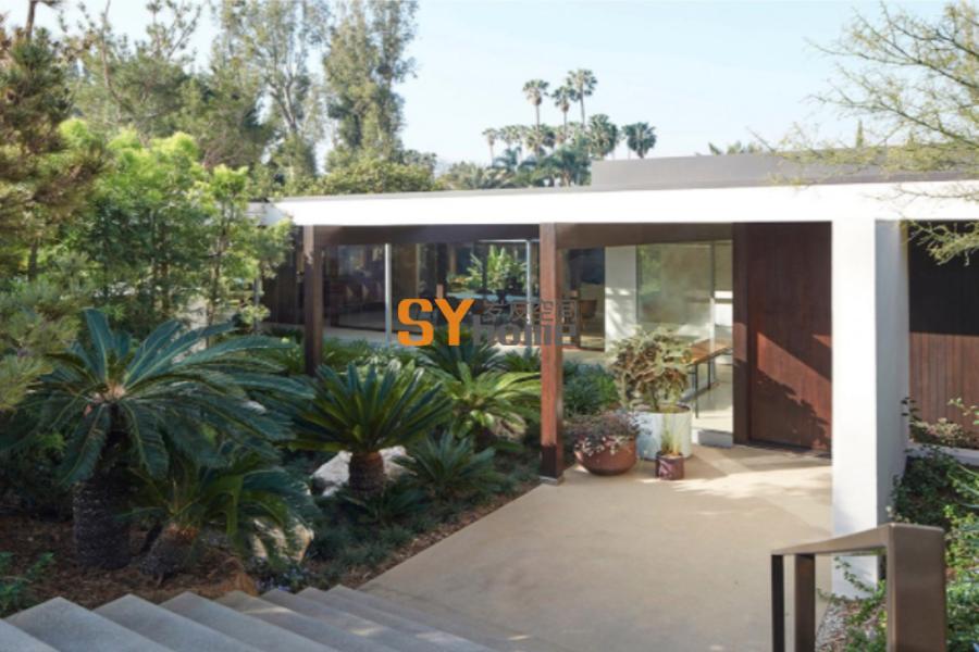 2016 ASLA 住宅设计类荣誉奖:比弗利山Kronish House修复项目 / Marmol Radziner