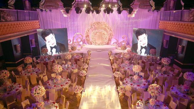 婚礼上可以大胆的放弃使用投影仪——郑州婚礼策划
