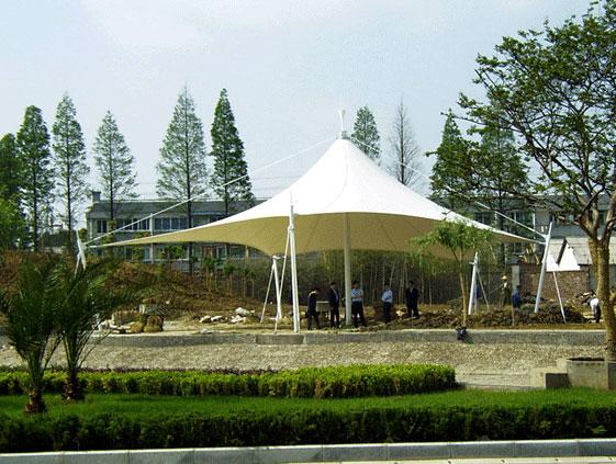 公园膜结构建筑