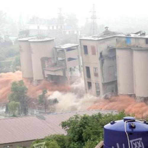 水泥厂拆除