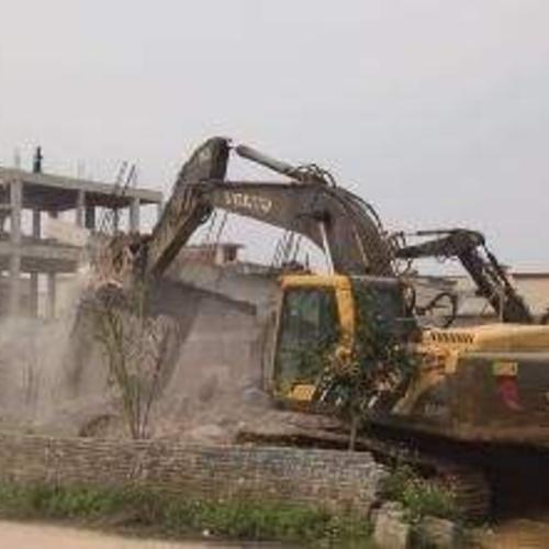 塑料厂拆除