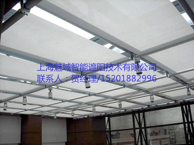 玻璃顶电动遮阳帘,魅域遮阳,15201882996