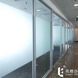 全铝简约单层玻璃隔断
