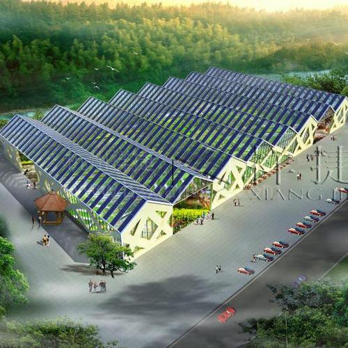 贵州省黔南州都匀市光伏U型玻璃工程
