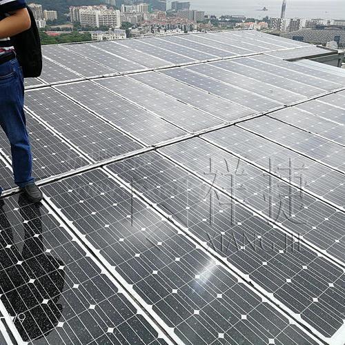 深圳東海岸居民光伏U型玻璃項目