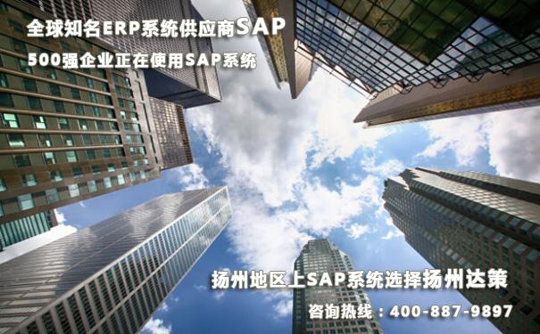 扬州SAP ERP系统实施商