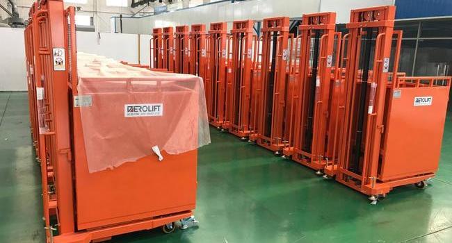 某大型集成电路制造商批量采购电动取货车