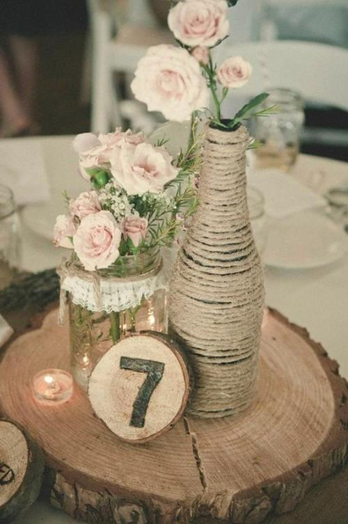 婚宴餐桌花艺 个性小物提升婚礼格调