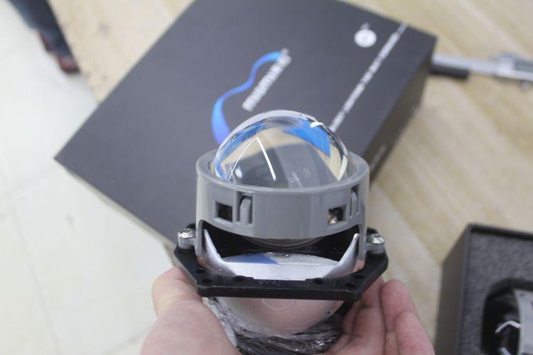 上海雪铁龙C6改车灯米石LED透镜加红色远光模组 ...��1��